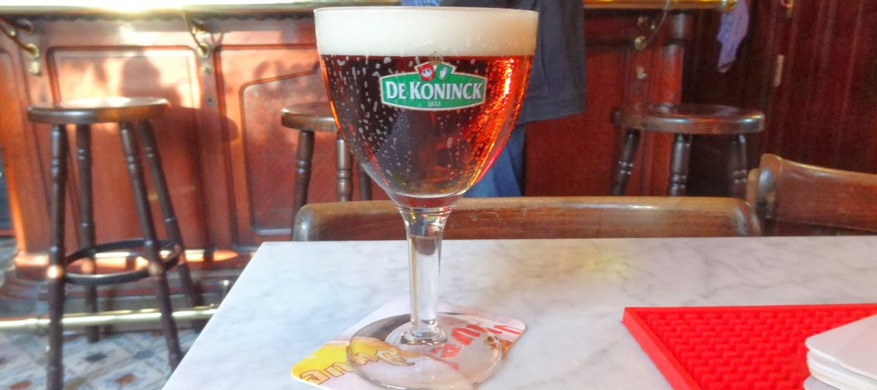 Find a bar (there are tonnes), sit inside or out, and order the local beer De Koninck, served in its own distinctive round glass called a Bolleke.